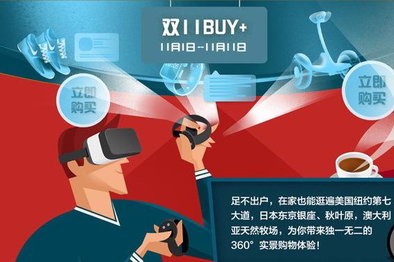 "VR购物""Buy+""11月1日上线"
