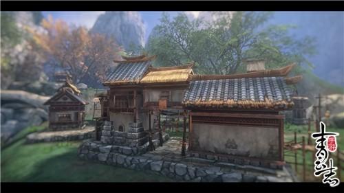 《青云志》手游场景画面公开