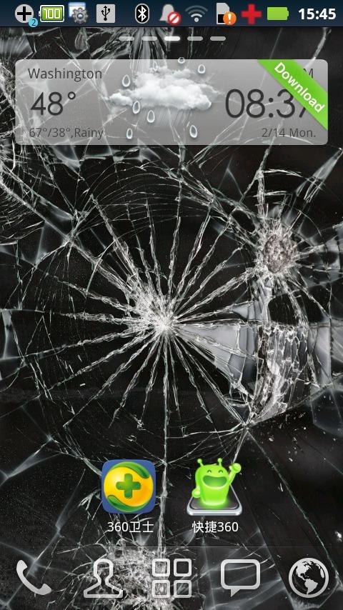 碎玻璃动态壁纸下载_v1.1