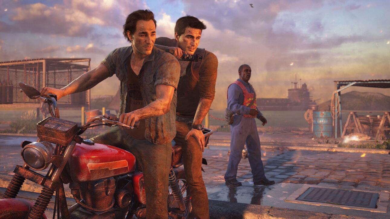 《神秘海域4》PS4Pro展现完美画质