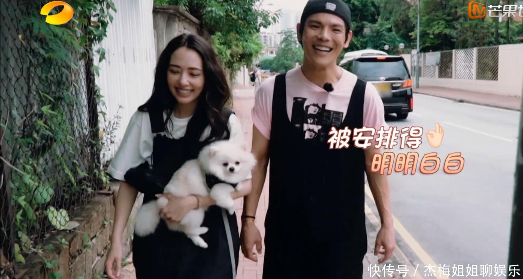 郭碧婷是真的爱小动物吗?单凭她抱宠物狗的姿势,就暴露了真相!