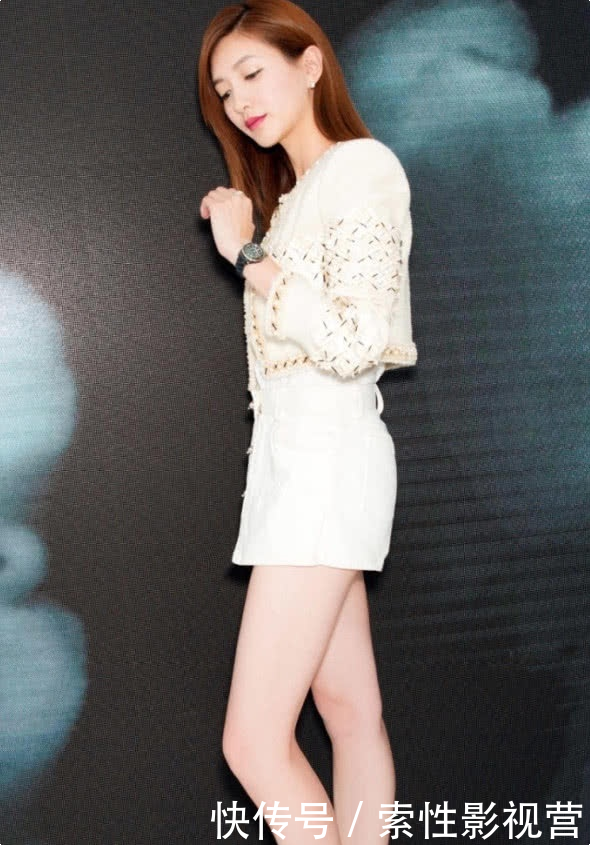 江疏影的腿到底有多白?看到高清镜头下的她,网友:太不可思议!