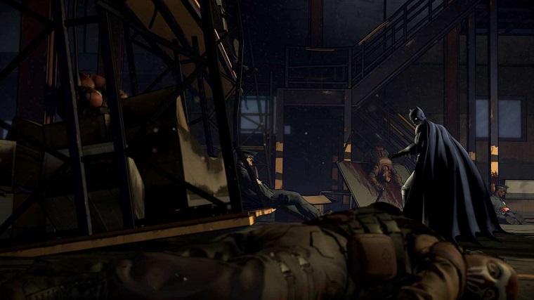 《蝙蝠侠:故事版》游戏画面