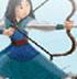 花木兰练箭: