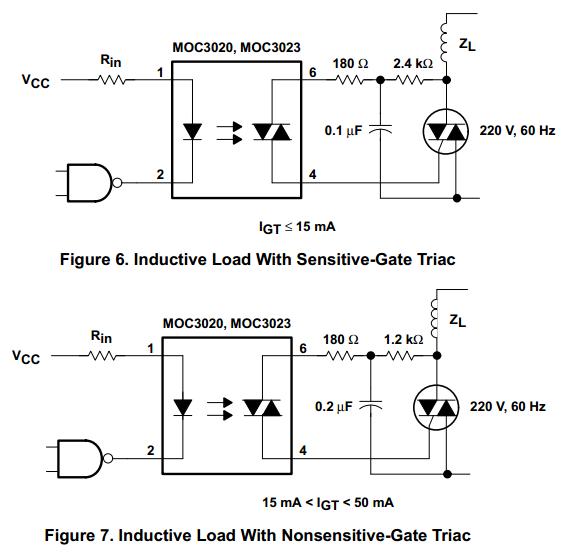 信息中心 求一个单片机双向可控硅触发电路,感谢   下载moc3021的技术