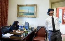 奥巴马贡献VR史上里程碑式照片 却被世界人民玩坏了