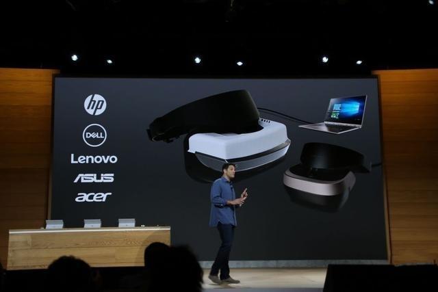 微软VR头盔新设备七大要点