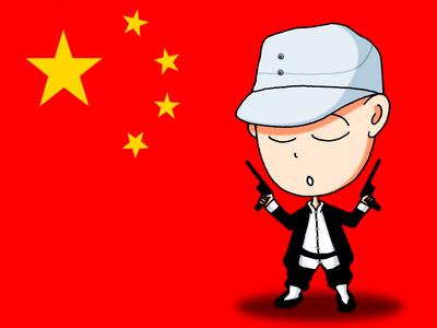 中国武警卡通头像