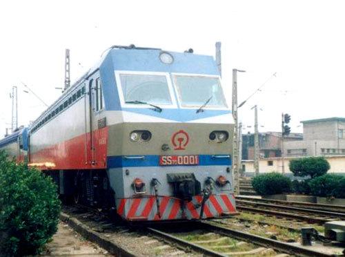 动力种类 电力  车辆建造 大同电力机车  型号 ss7  建造年份 1992年