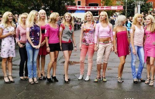在中国混血美女特多的城市 游客戏称仿佛置身乌克兰