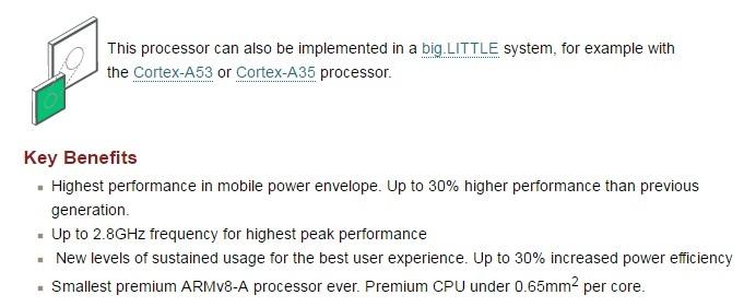 ARM发布新一代CPU架构A73