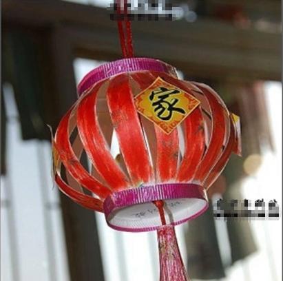 纸杯的手工灯笼 制作方法