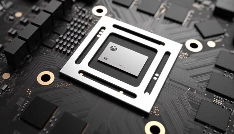 Xbox天蝎座主机宣传图