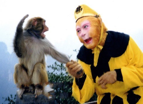 """六小龄童将与好莱坞合拍""""孙悟空"""""""