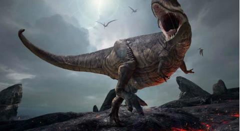 《孤岛惊魂5》岛上出现猛犸和远古恐龙