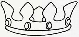 公主皇冠怎么画