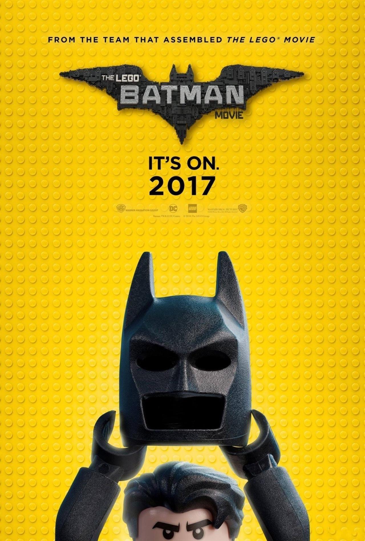 《乐高蝙蝠侠》新电影海报