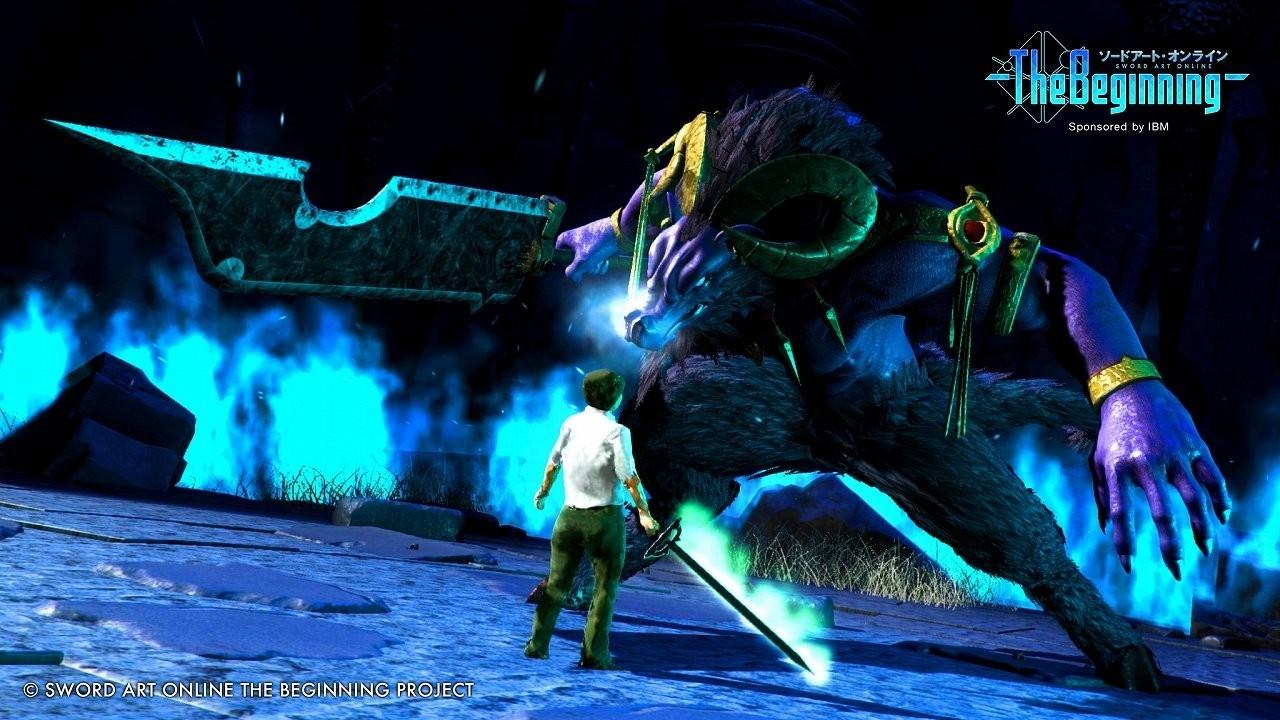 《刀剑神域:The Beginning》游戏截图