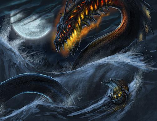 另一个关于巨蛇的故事也是跟托尔有关的.某次,托尔随巨人西米尔