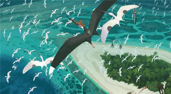 科学家揭秘新物种翼龙 曾是空中霸主翼展可达9米