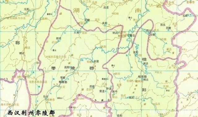 唐朝道州县地图