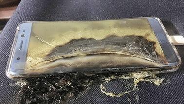 韩联社称三星暂停生产Note7 电池问题或成主因
