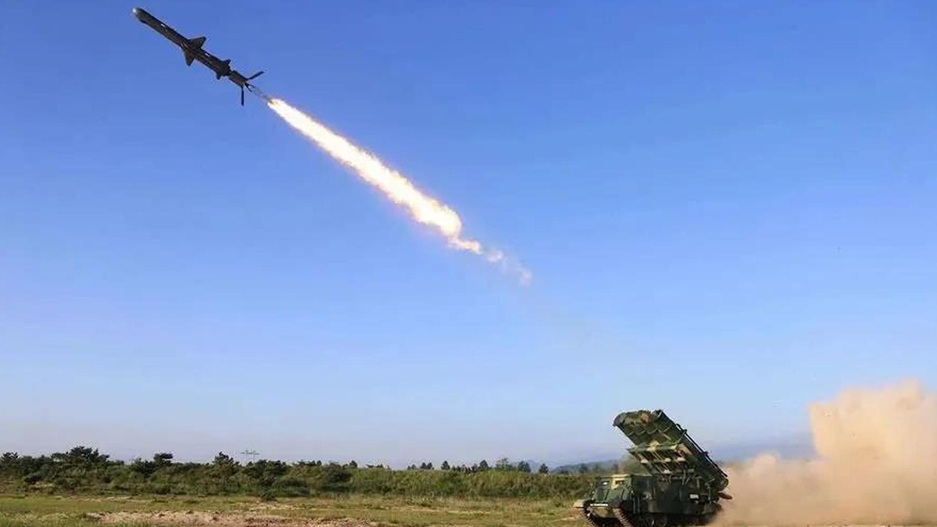朝鲜试射两枚巡航导弹 韩方:未违反联合国相关决议