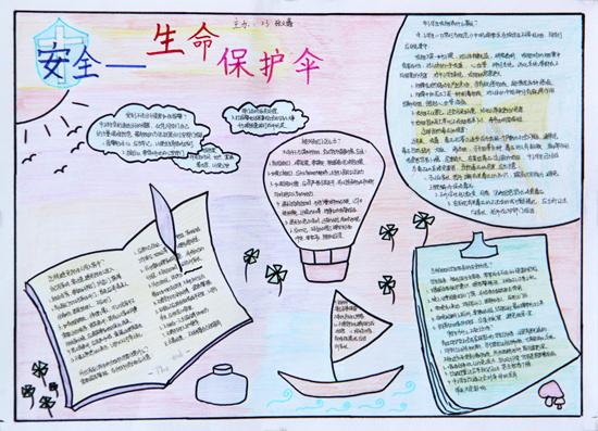 小学生安全画报-有关中学生的安全知识,急用