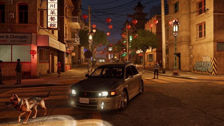 《看门狗2》唐人街场景
