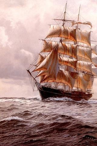 手绘帆船拼图下载