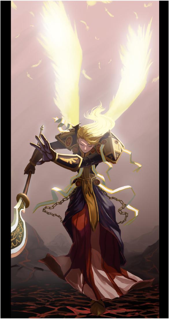 圣骑士-网络游戏《天堂Ⅱ》职业