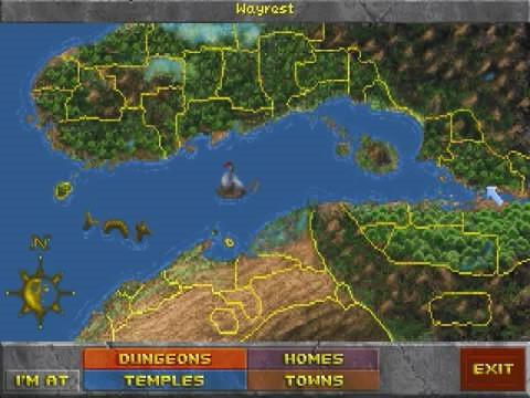 《上古卷轴2:匕首雨》部分地图
