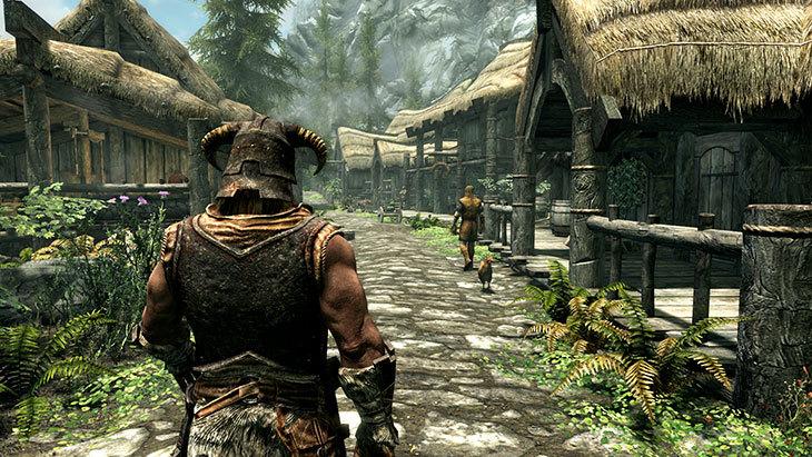 《上古卷轴5:天际》PS4重制版版容量曝光