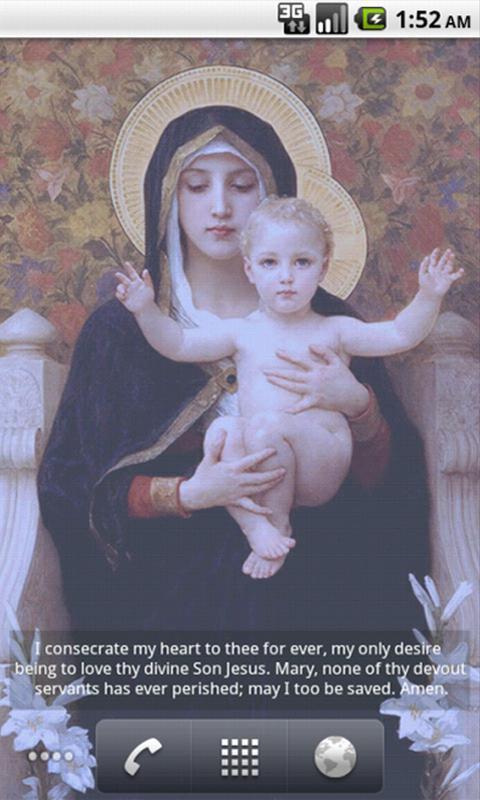 圣母玛利亚壁纸