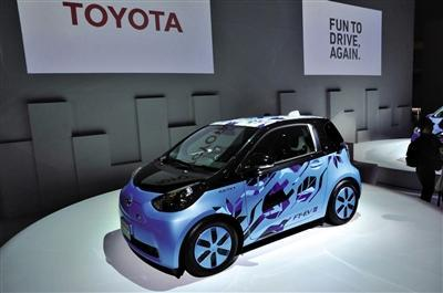 ft-eviii小型电动概念车是丰田ft-ev系列的第三代概念车型,车身长度