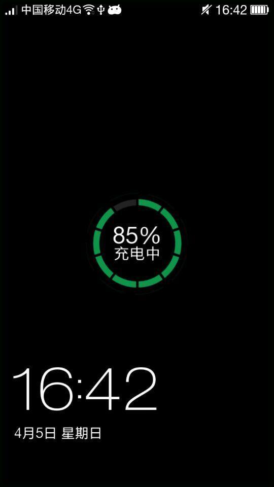 我手机是oppor3为什么屏锁黑色的换屏锁壁纸都是黑色的&