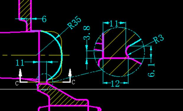 cad局部放大符号怎么写?例如图片-cad放大 cad放大快捷键 cad放大