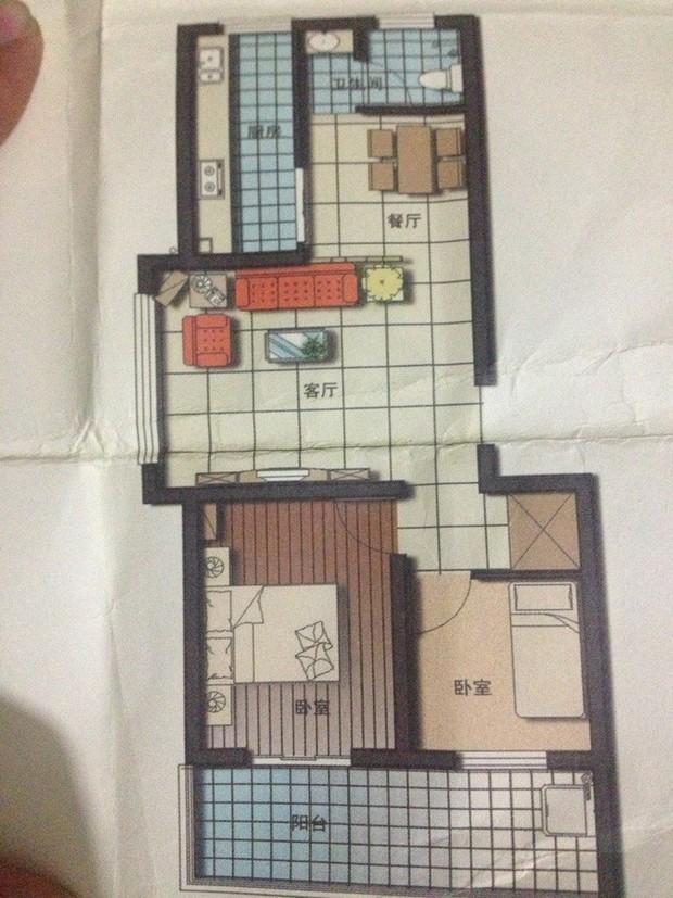 qq19891730两室一厅80平米的房子客厅在中间双阳卧室