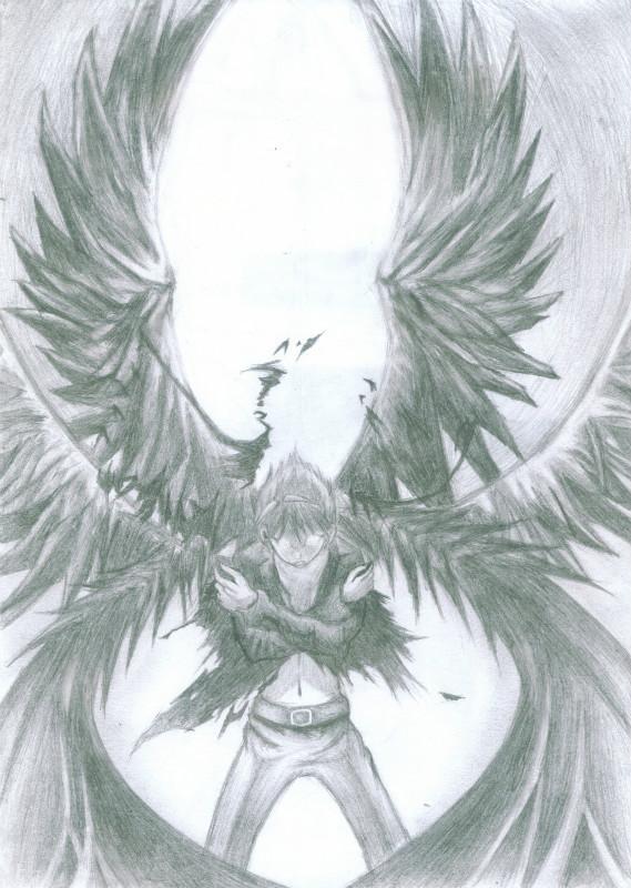 男生带翅膀的头像