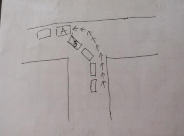 [转载]十字路口左转时,老司机都走B线,只新手才走A线? - 烟圈 - 烟圈的博客