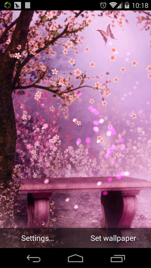 浪漫櫻花童話壁紙关键词:童话,濛濛细雨,樱花,萤火虫,浪漫這是關於美麗的浪漫的櫻花動態壁紙。在應用中,你會看到美麗的櫻花花瓣旋轉著飄落著,就在你的手機屏幕中。你還有看到非常美麗浪漫的櫻花景色,還有旋轉著的風車呢!一個小女孩坐在屋頂上,正陶醉著呢!觀看著精彩的朵朵鮮花和粉色的櫻花樹背景,櫻花在屏幕上徐徐飄落,如此的唯美而典雅。美麗的櫻花在日本像徵著愛情和好運氣。希望這動態壁紙能帶給大家好運與美好的愛情!希望大家喜歡!謝謝!為了適應更多的選擇,加入了5張背景,和多種動態效果,您可以改變圖片的顏色,改變不同的背