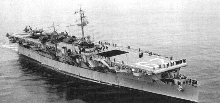 美国巴丹号航空母舰