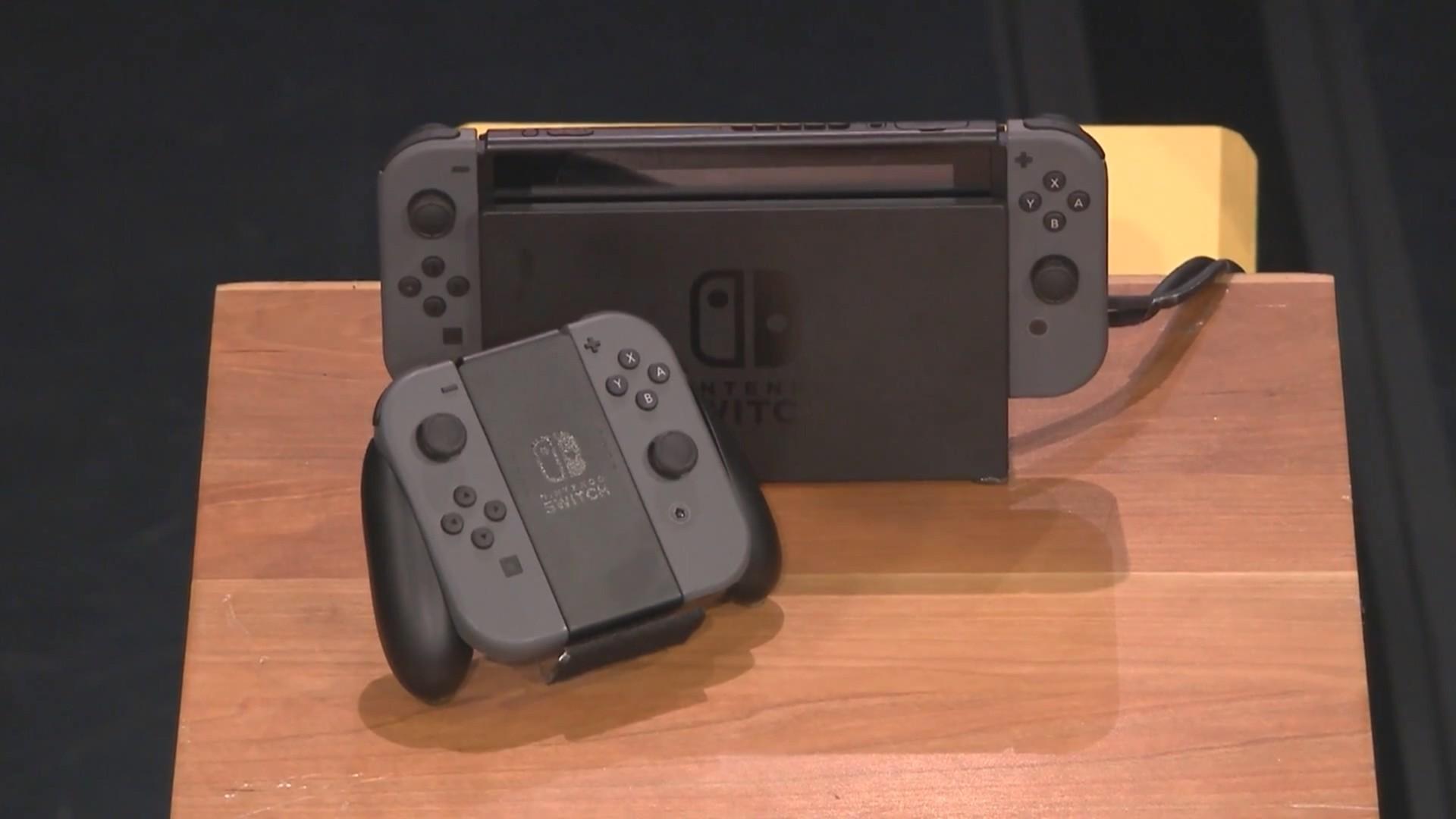 任天堂Switch首次实机演示曝光