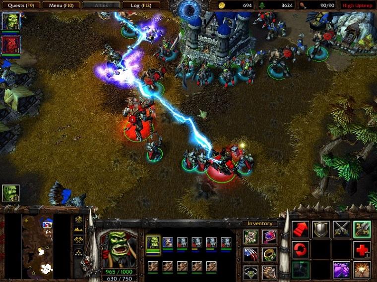 《魔兽争霸3》游戏画面