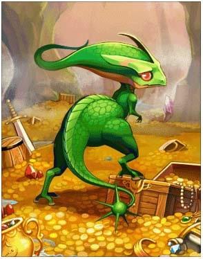 绿贝勒斯卡片