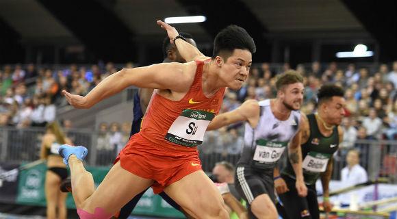 最终战:苏炳添60米跑出6秒49夺冠