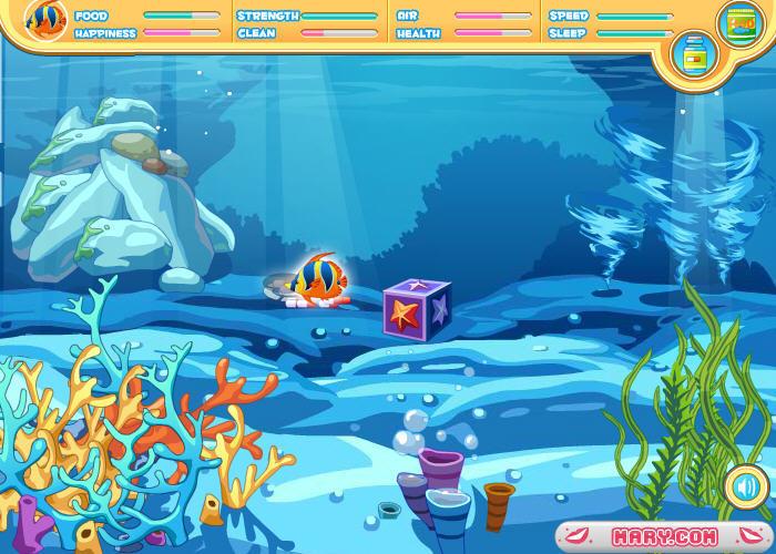 养了一条宠物鱼 单人游戏