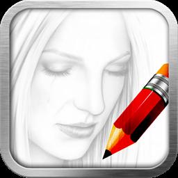 素描大师-我的素描本:手机变成素描本,让你尽享素描创作的欢乐