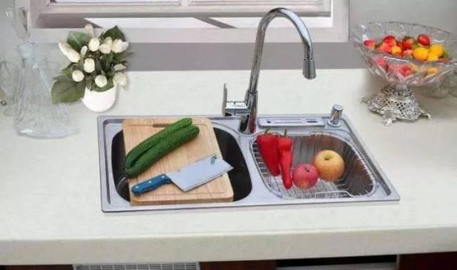 厨房水槽选单槽还是双槽?说得太对了,回去就换! -  - 真光 的博客