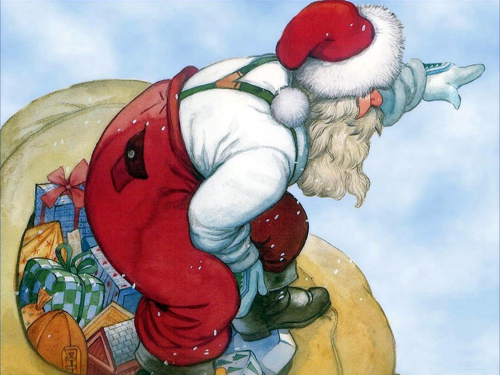圣诞老人驯鹿简笔画 圣诞驯鹿简笔画